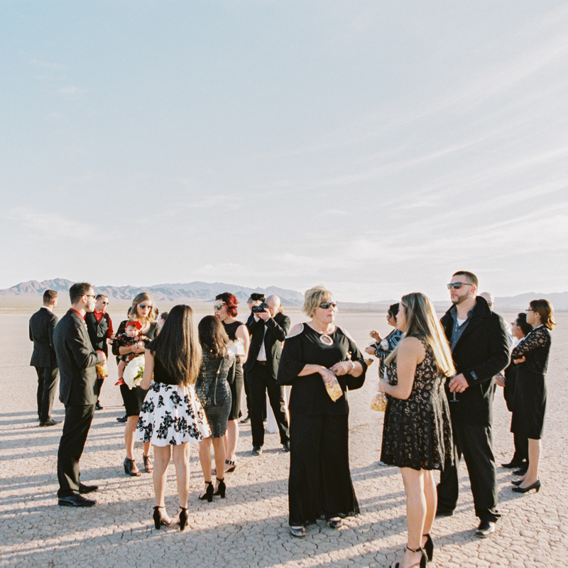 dry lake beds weddings