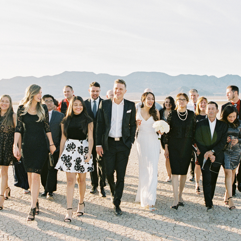 dry lake bed wedding photographer