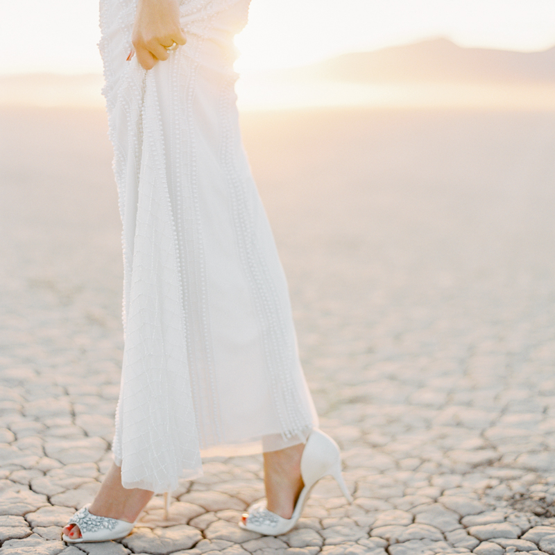 dry lake bed las vegas wedding