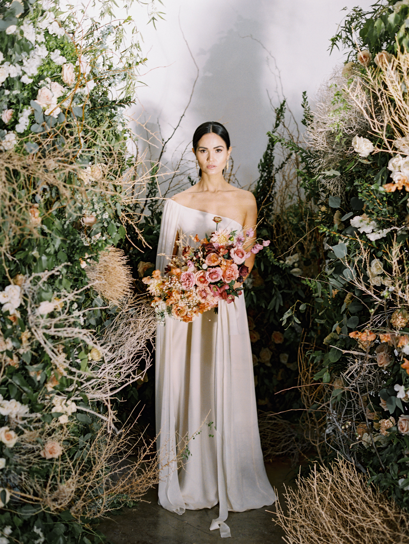 runway inspired wedding - las vegas wedding