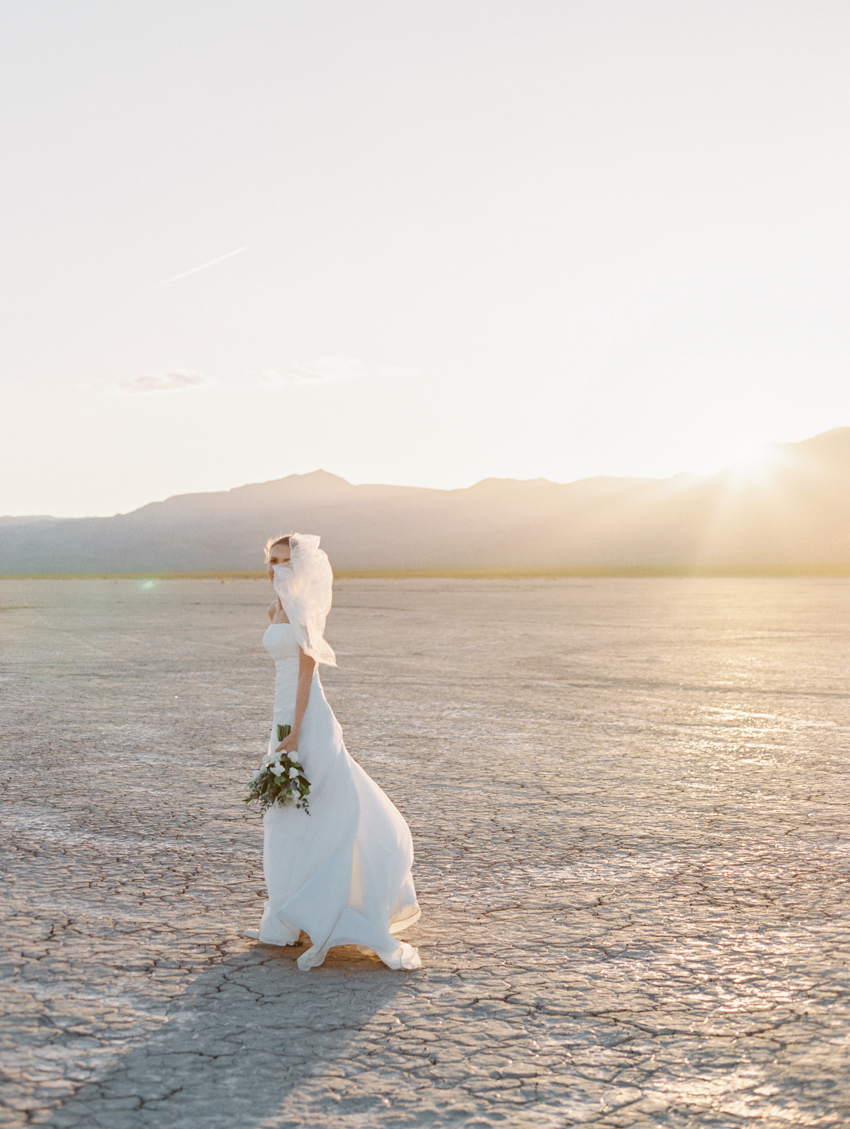 dry lake beds wedding