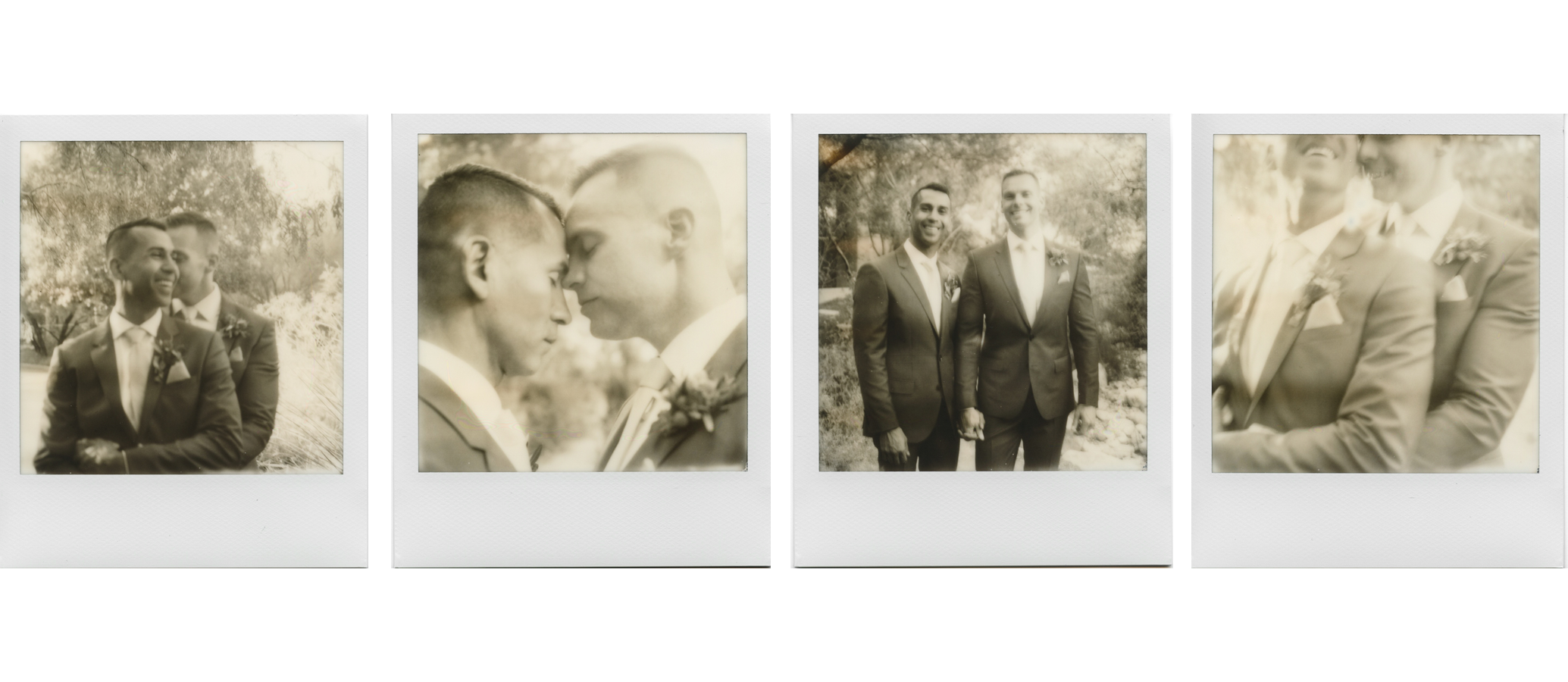 polaroid wedding photographer