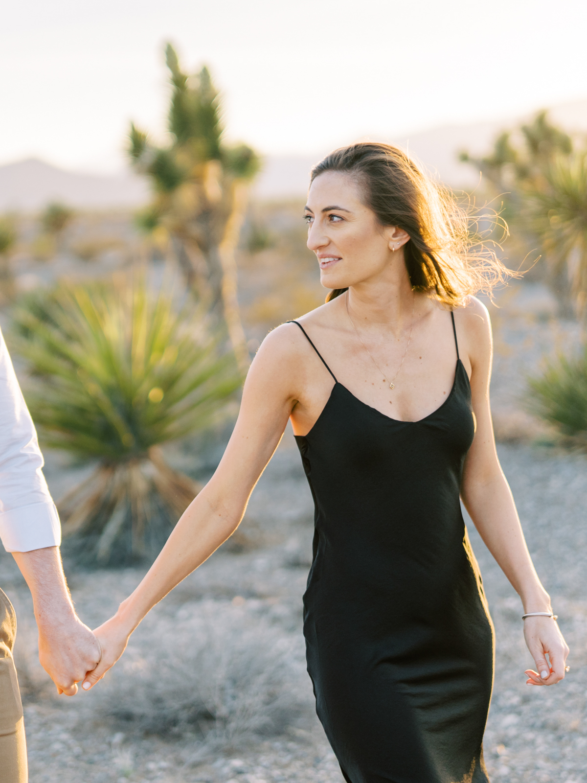 las vegas desert engagement photographer
