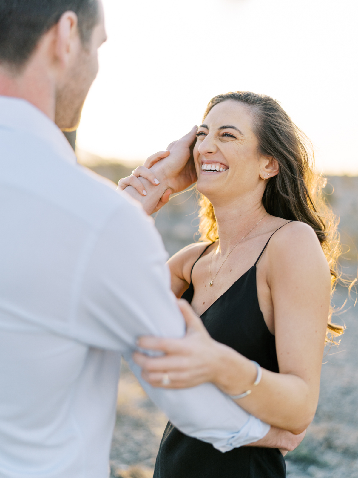 desert engagement photos in las vegas