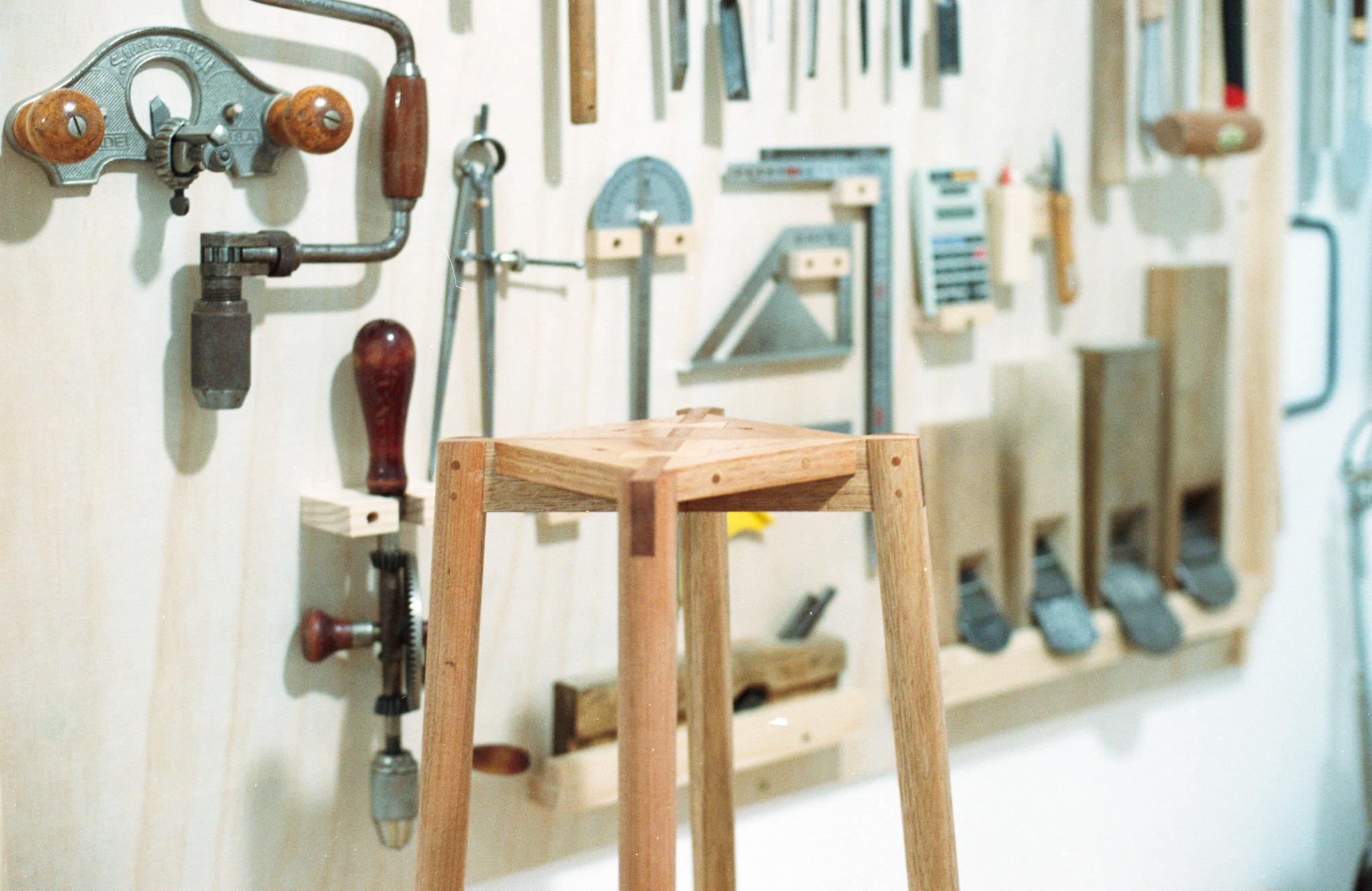 Hand tool stool bottom PF