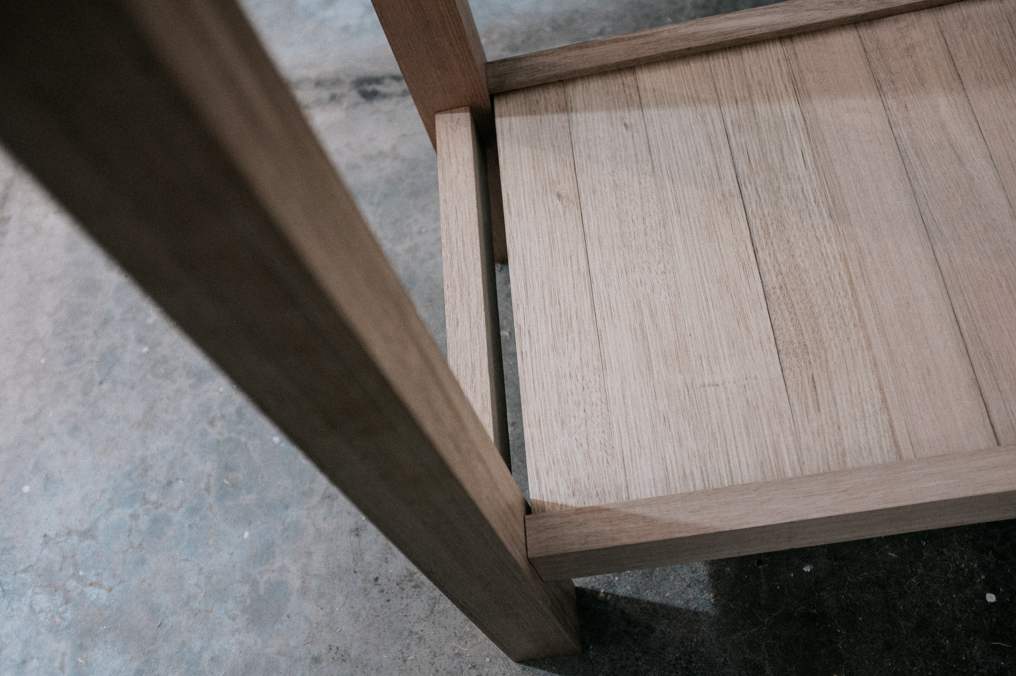 High table leg joinery PF