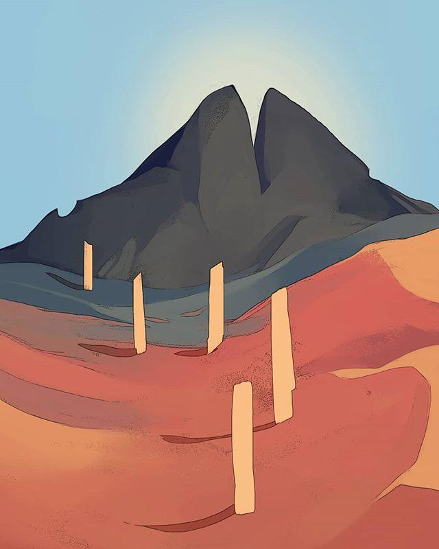 WIP . . . #journeygame #journey #illustrationoftheday #illustration #digitalillustration #art #artistsoninstagram