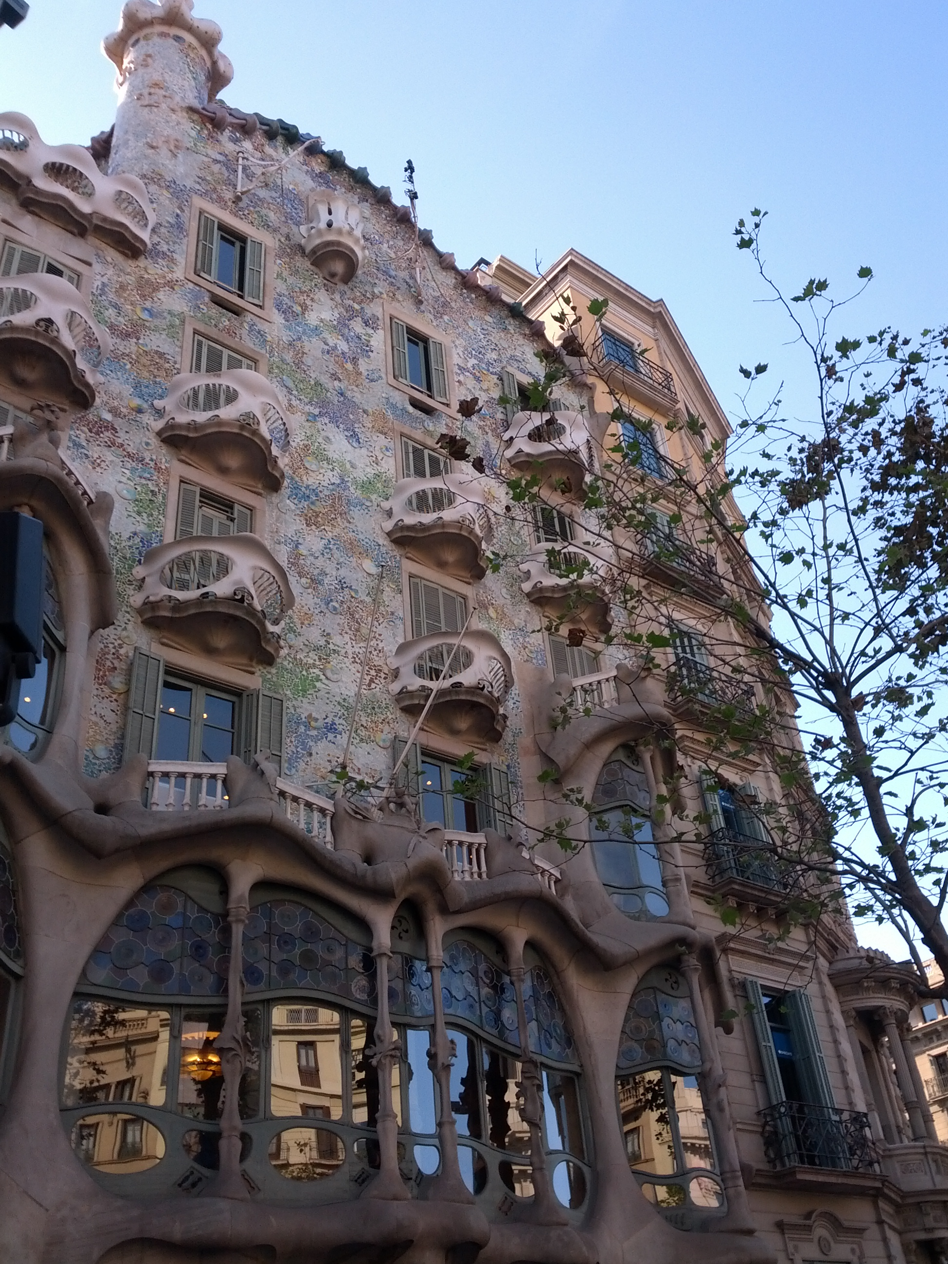 Some Gaudi Building