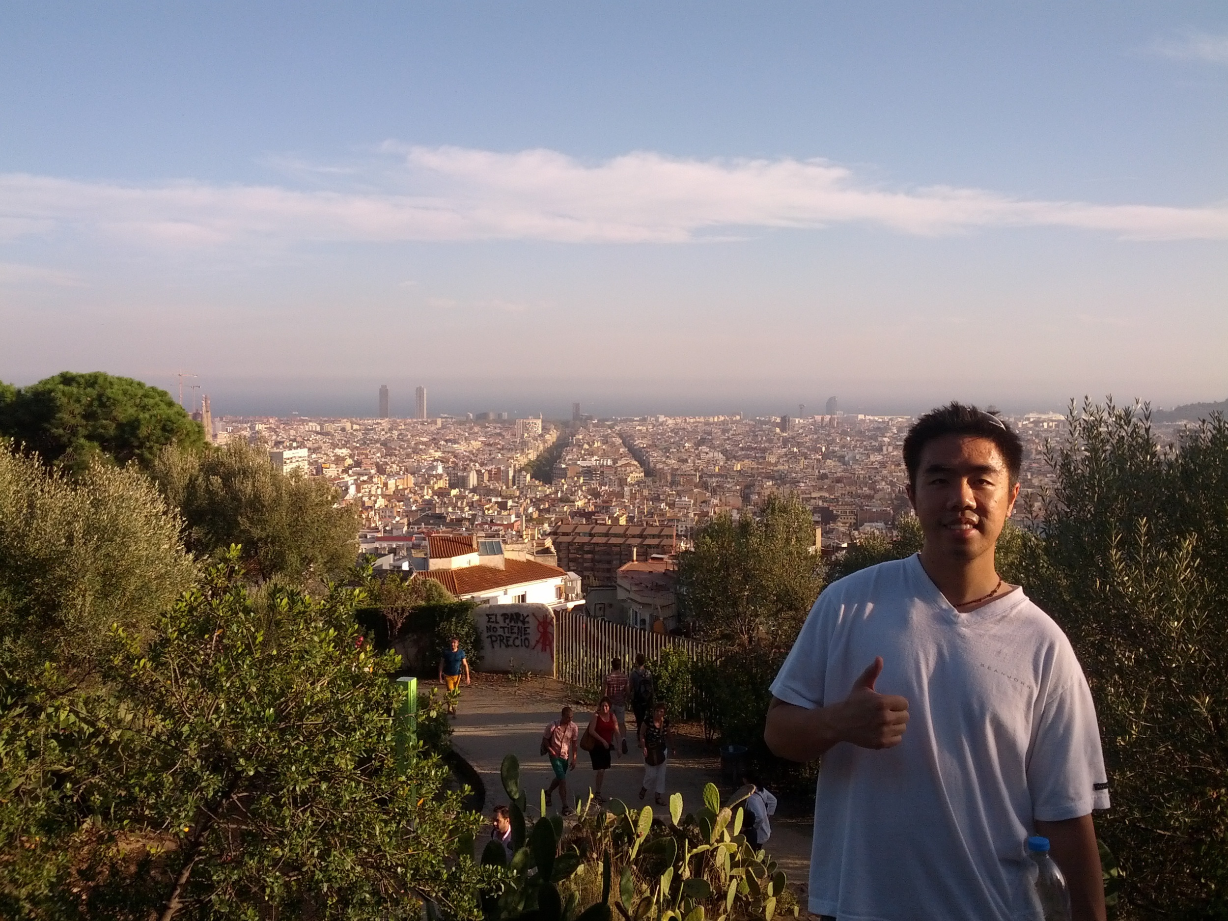 Thumbs up for Barcelona