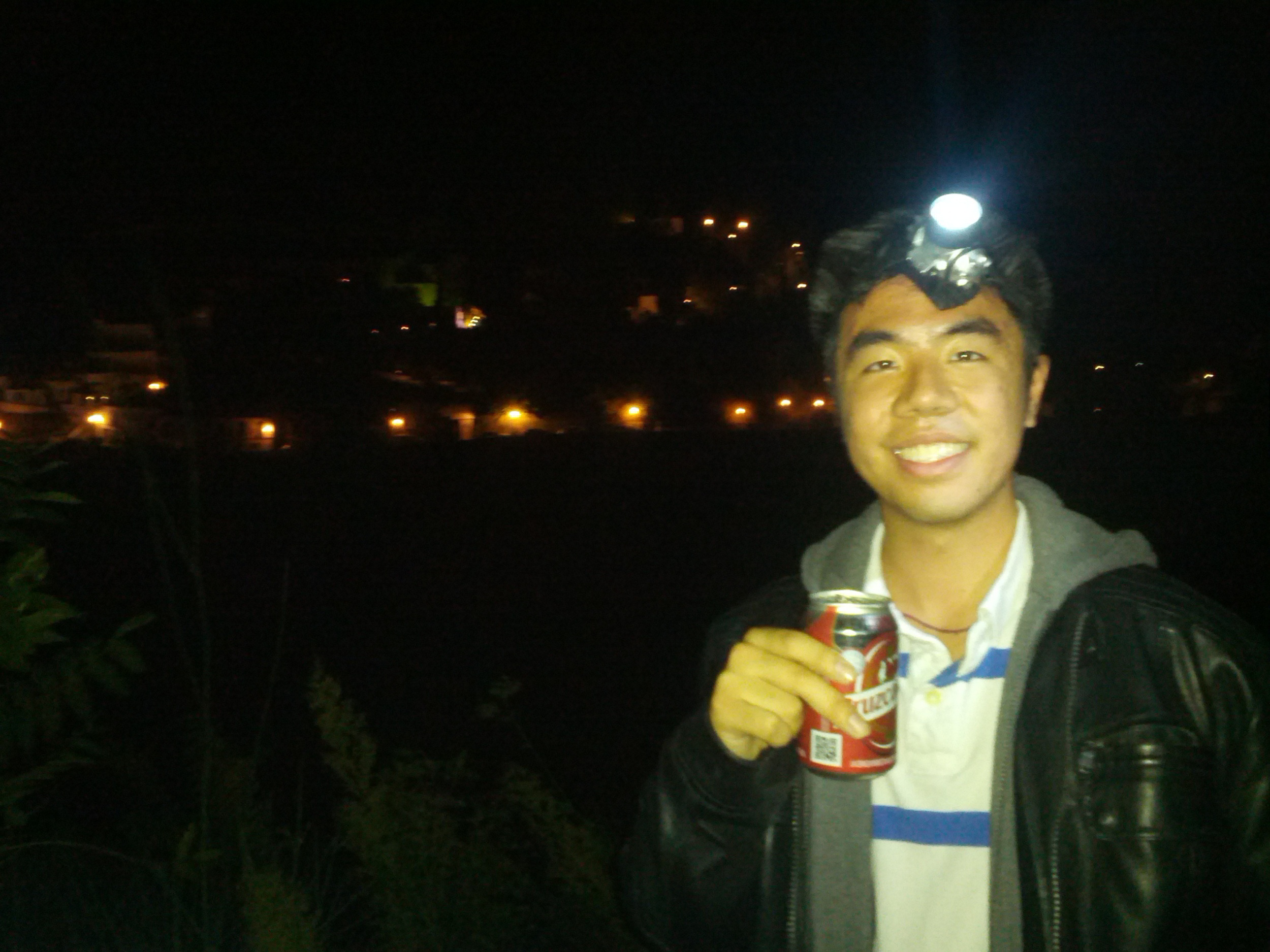Beer before the Alhambra Hike