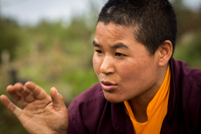 Raised in a farming family, now a nun, Ani Kinzang Choden is planting hazelnuts to support her vision of building a new long-term retreat center at her family's ancestral farm. Now her trees look promising, and she feels confident this project will provide her income to build a retreat for fellow nuns.  More...