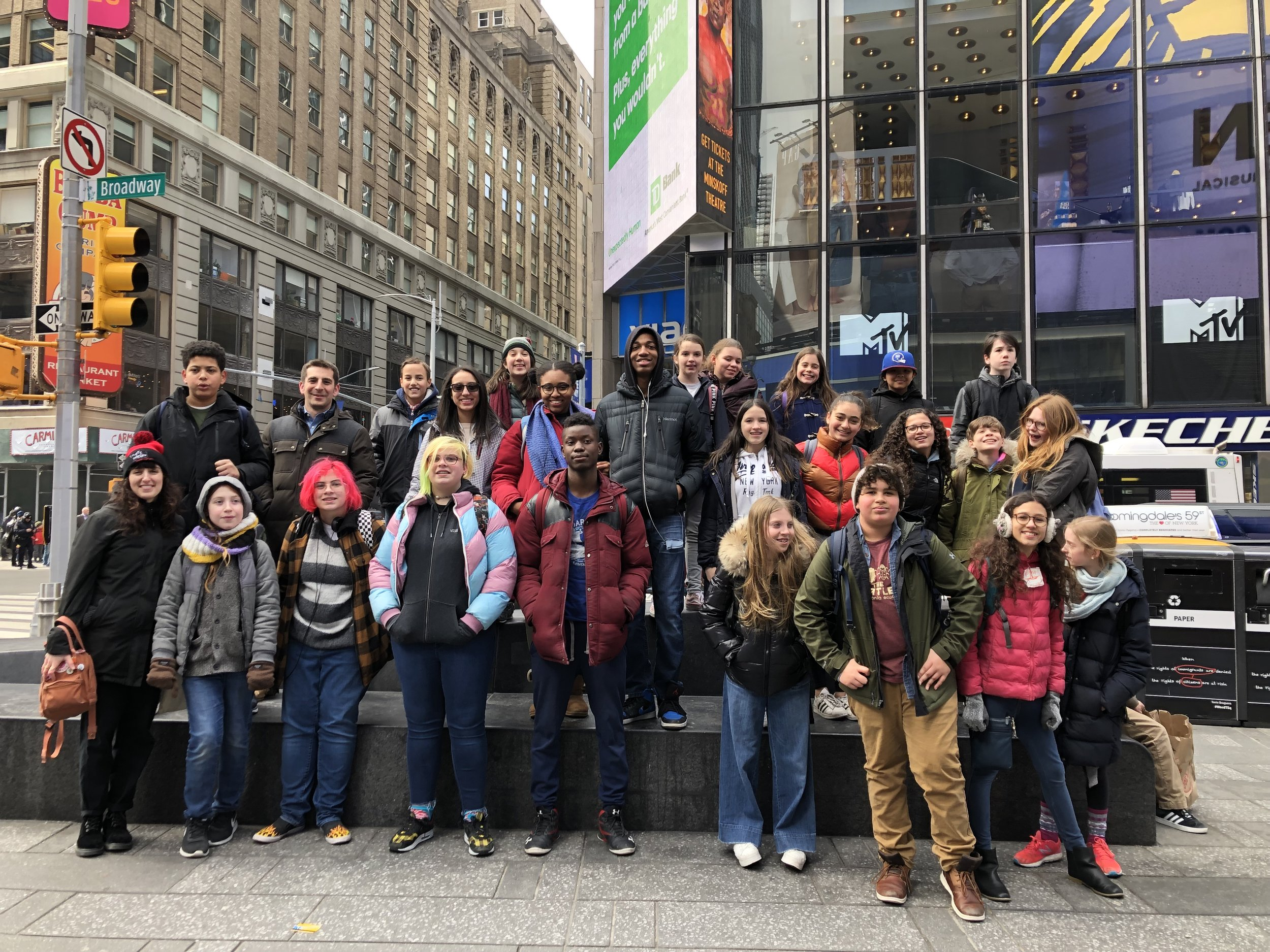 ICE Drama Elective trip to LION KING on Broadway