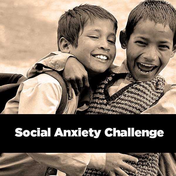 The SAC is a fun 21-day challenge designed to break down anxieties and build confidence by getting you out of your head and completing small daily tasks you might not think to do.