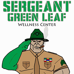 seargent green leaf