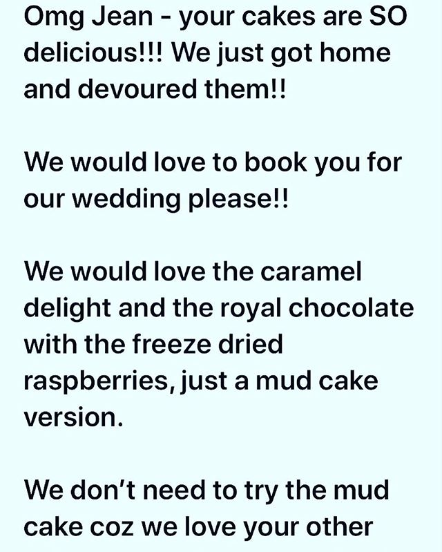 After a lot of self doubt over the past few days I feel so grateful to have received this email a few moments ago. It has really lifted me up and made my week! 💕🙏👩🏼🍳☺️ . . . . . #baking #bakesbyjean #beautifulcuisines #cake #cakeoftheday #cakeguide #dessert #f52grams #homemade #instacake  #pastrychef  #sweetmagazine  #bakeandshare #thebakefeed #pastrydelights #wedding #weddingcake #grateful #greatful #thankyou