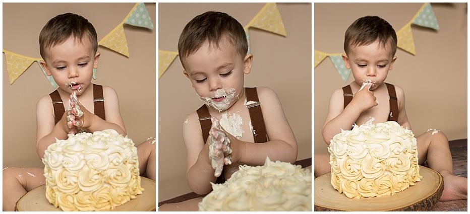 cake smash boy seattle tacoma