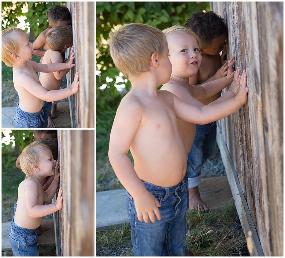 boys summer barn Tacoma, Renton, Auburn photographer