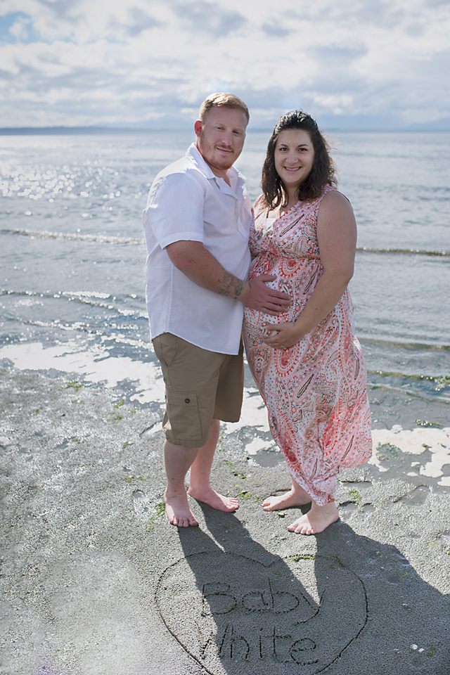 Seattle Maternity Photography Puget Sound Couple