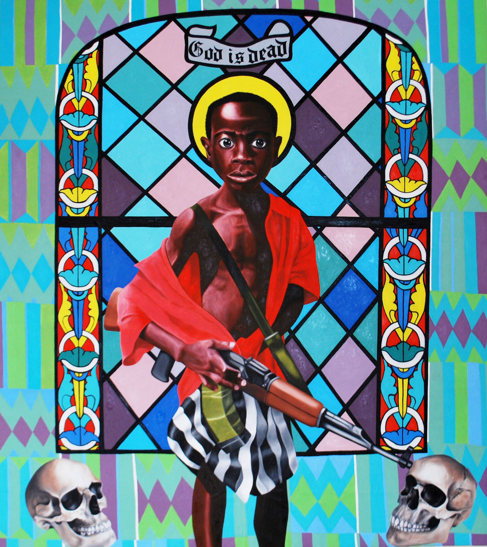 God is Dead , 2015, oil on canvas, 180cm x 160cm, Private Collection