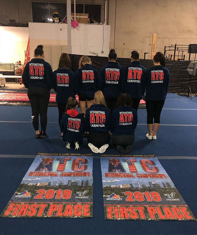 It was an amazing weekend at @atc_allthingscheer!  Style - 3rd place in a competitive division  Fame - 1st place, remains undefeated  Glamour - 1st place & zero deductions both days.  Every team added new skills to their routines, and Style & Glamour received their highest scores of the season! Now back to the grind before Best of the Northwest!
