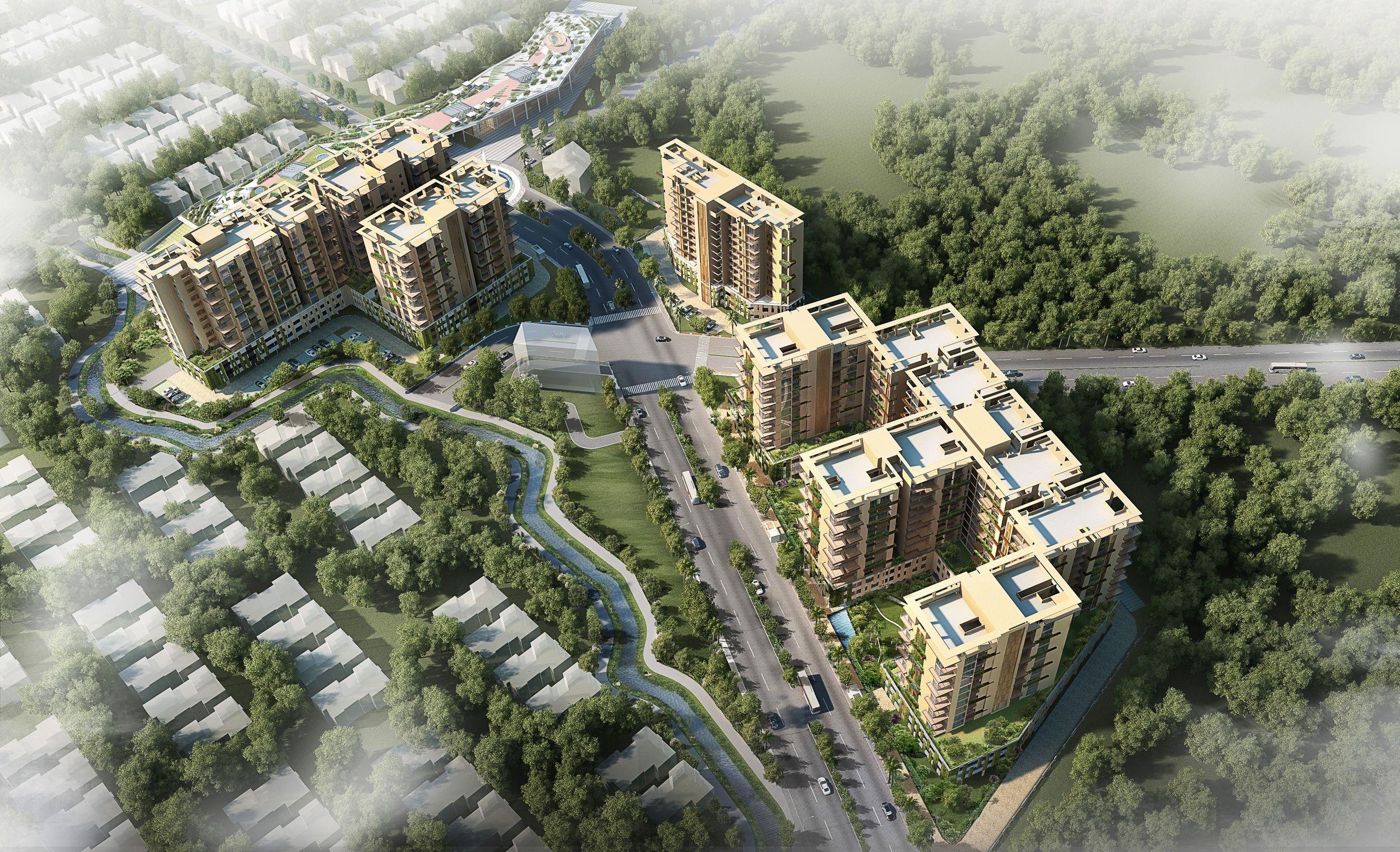 Vastu Complaint Apartments - Raipur