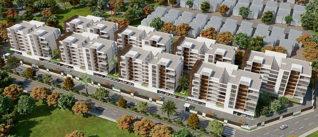 Vastu Complient Apartments - Raipur