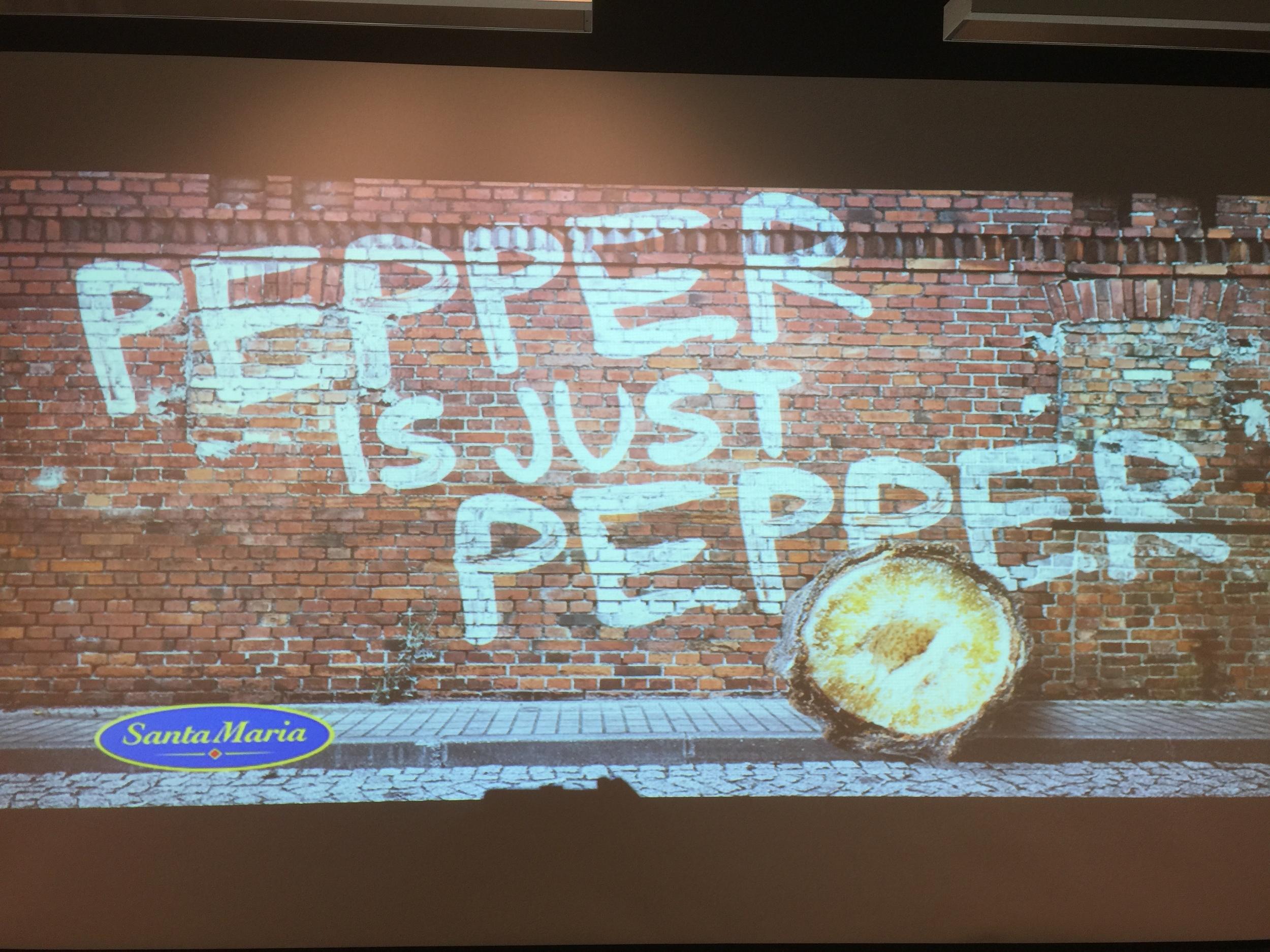 Er pepper bare pepper? Det har Santa Maria klare meninger om at det ikke er!