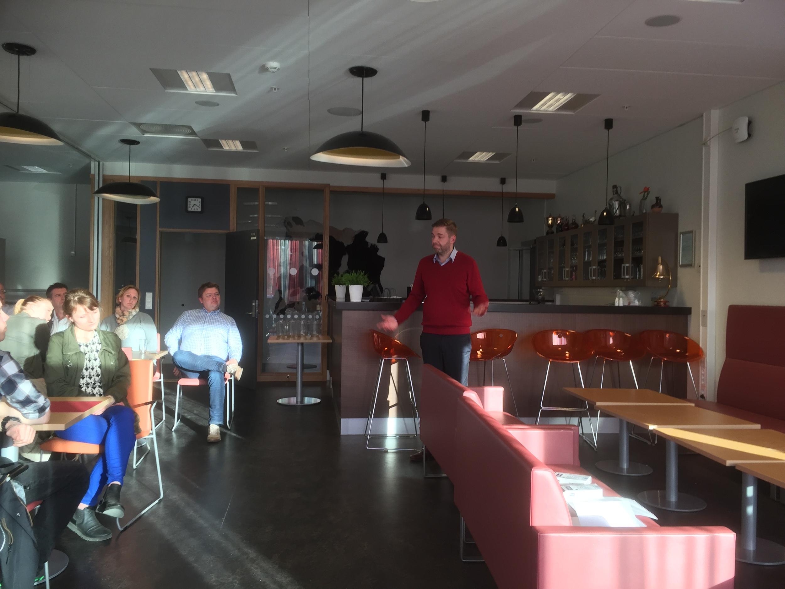 F&B manager på Scandic Nidelven Hotell Lasse Waagbø
