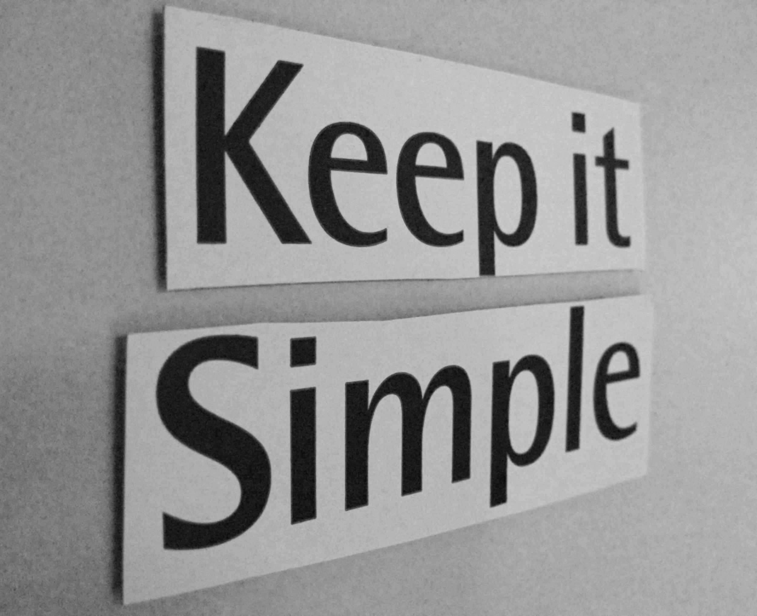 Keep It Simple by Jimee, Jackie, Tom & Asha, CC2.0