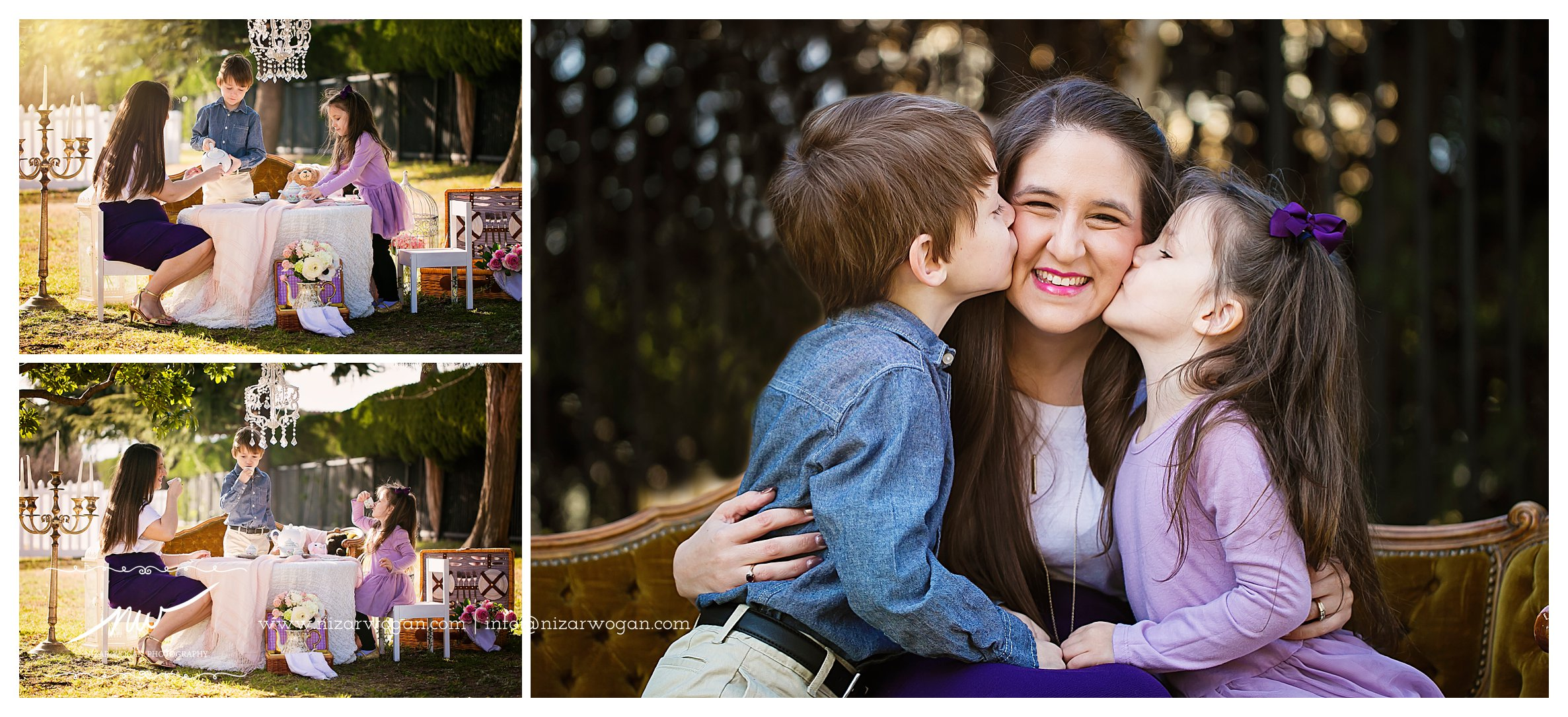 mother and children sessions