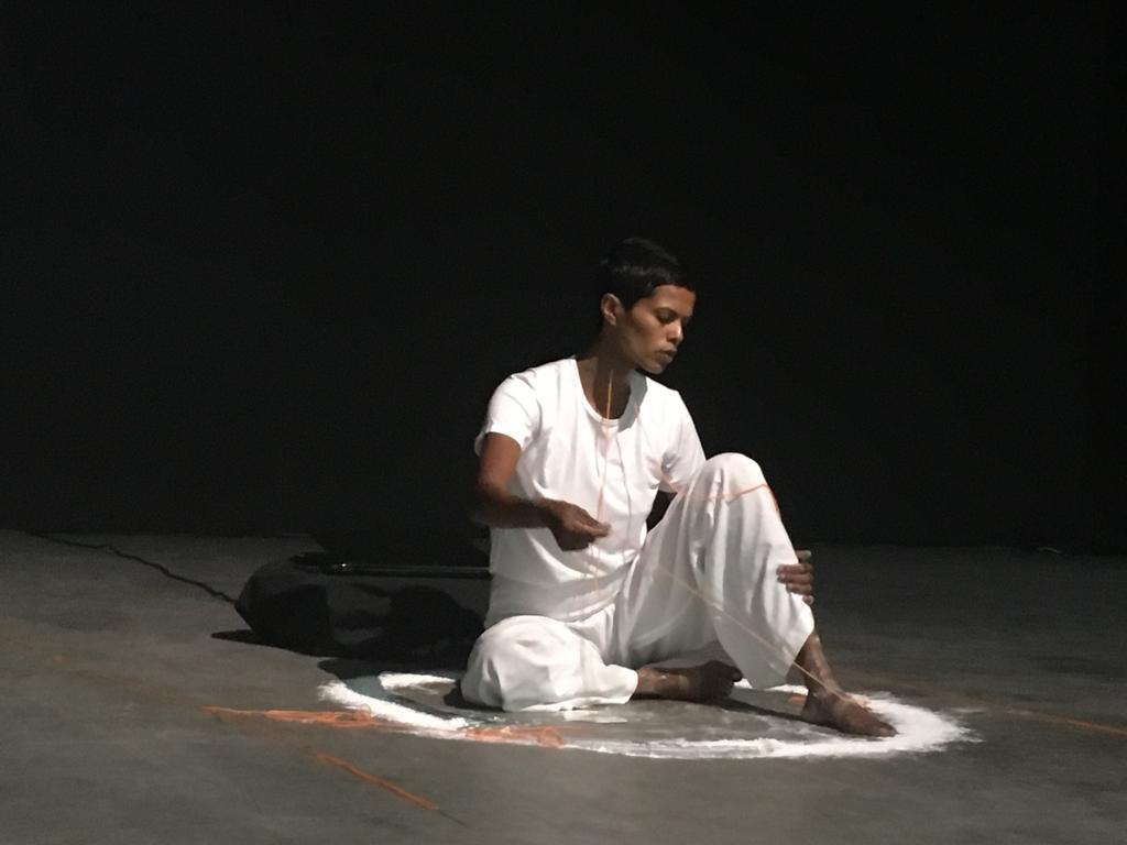 Undiscovered country, still from performance at Artstage, Singapore, 2019