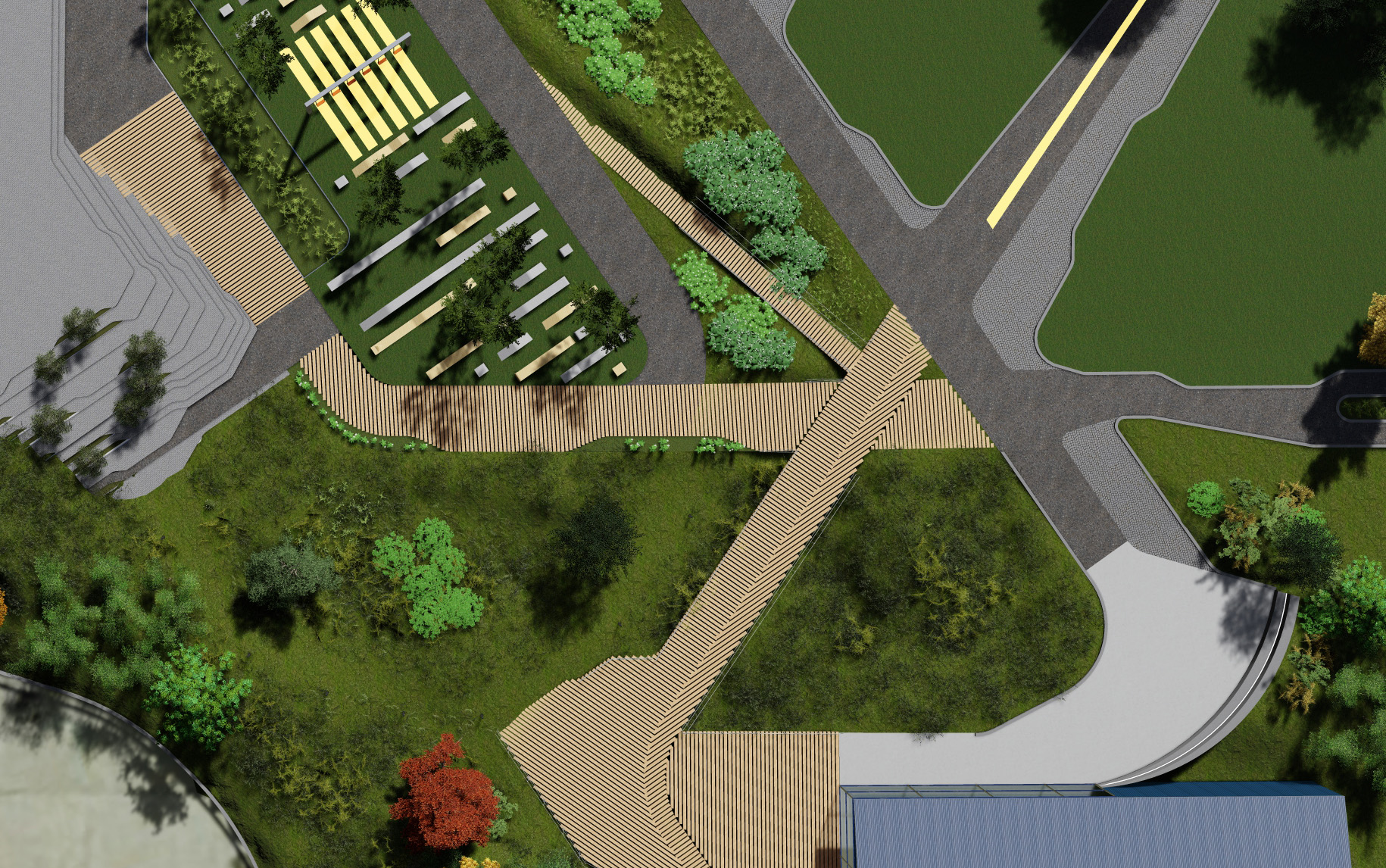 Park Park - The intersection of public-space, infrastructure, and ecology