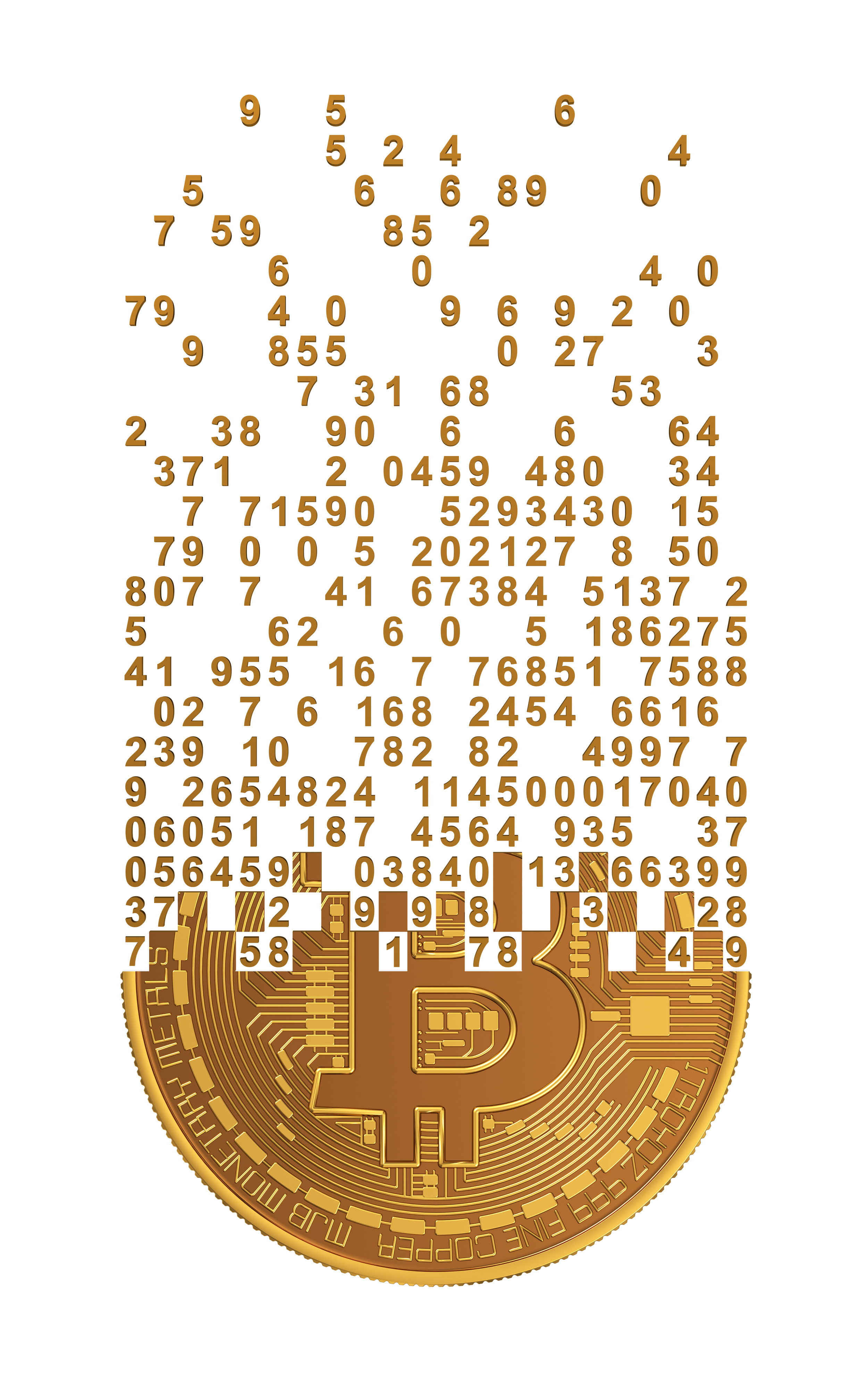 Bitcoin Falling Apart To Digits