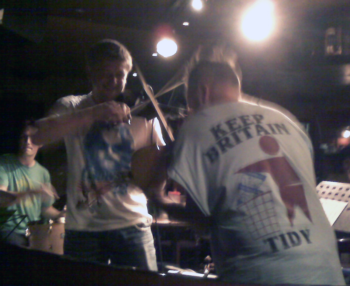 Nigel Kennedy and CG.  London 2009