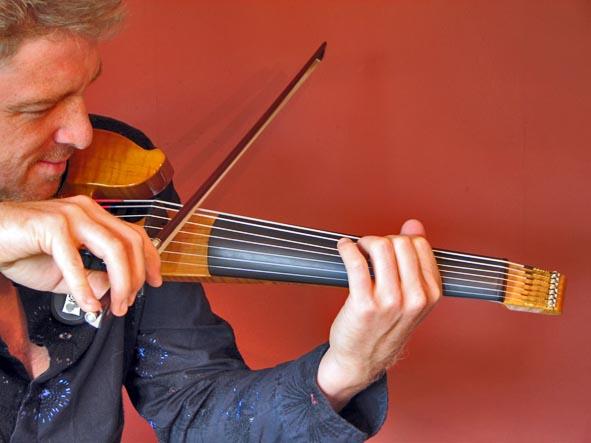John Jordan 7-string electric violin
