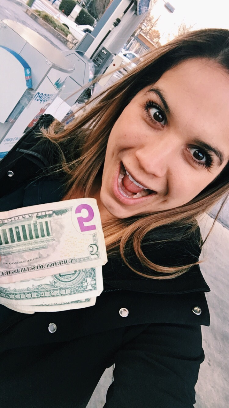 My Mega Millions winnings: $9, baby!