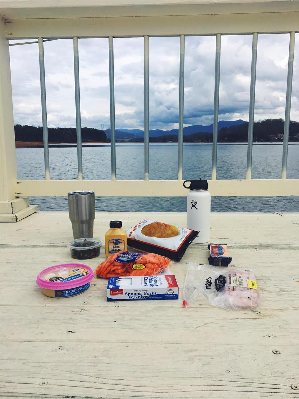 Our impromptu picnic :)