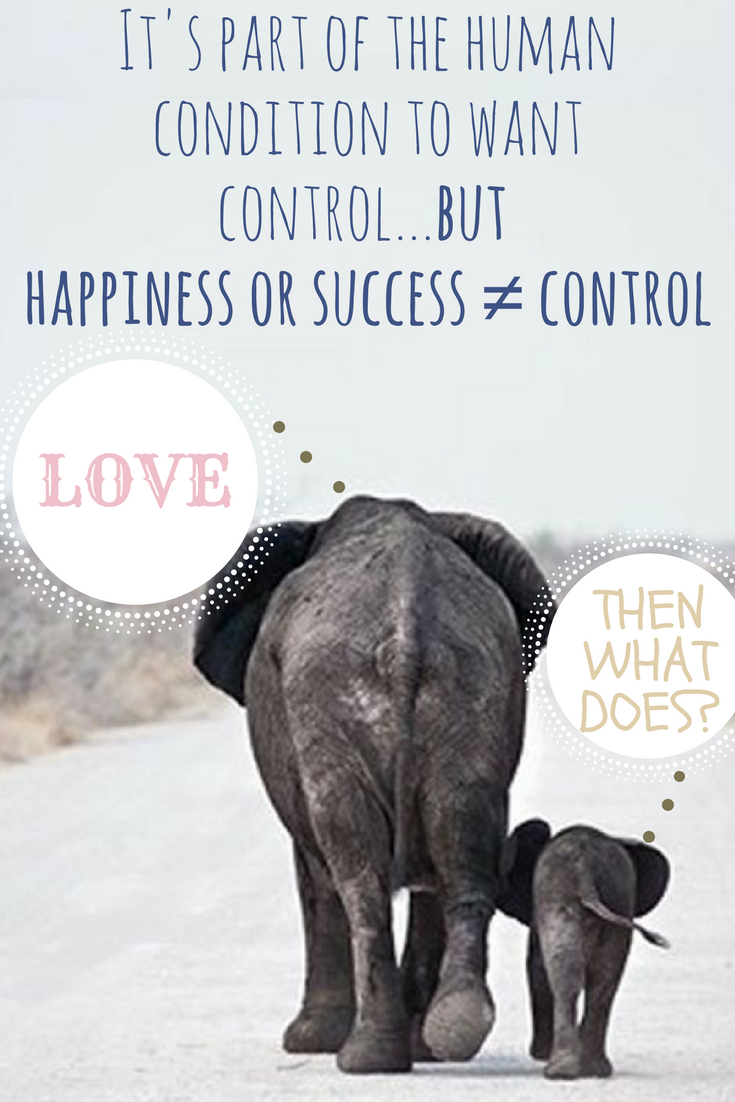 Its part of the human condition to want control...but control happiness or successWhat does_ Love.png