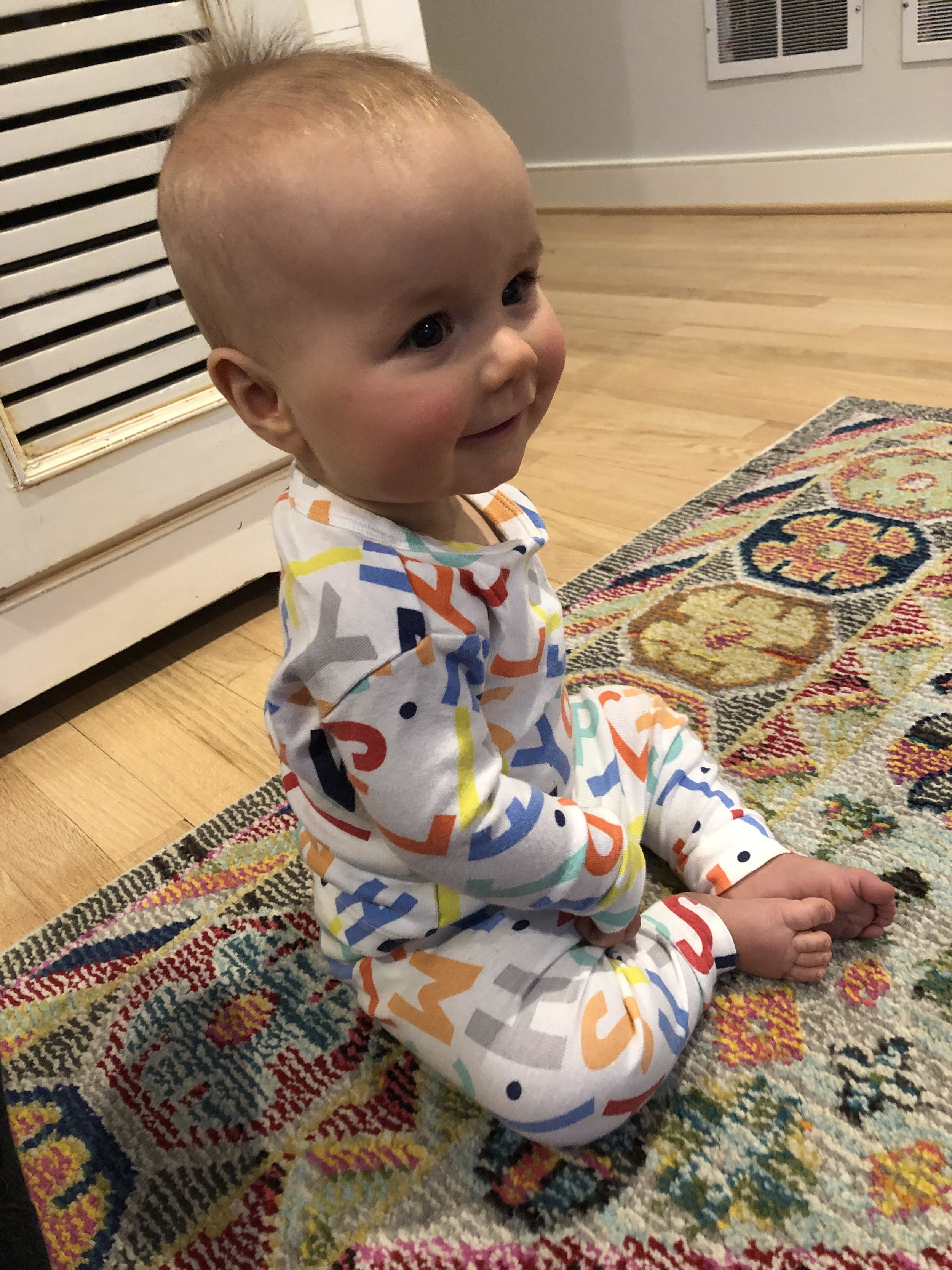 Loving these baby Gap PJs! I am eyeing  this pair , too!