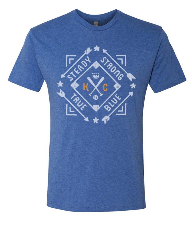 KC Diamond T(royal blue)