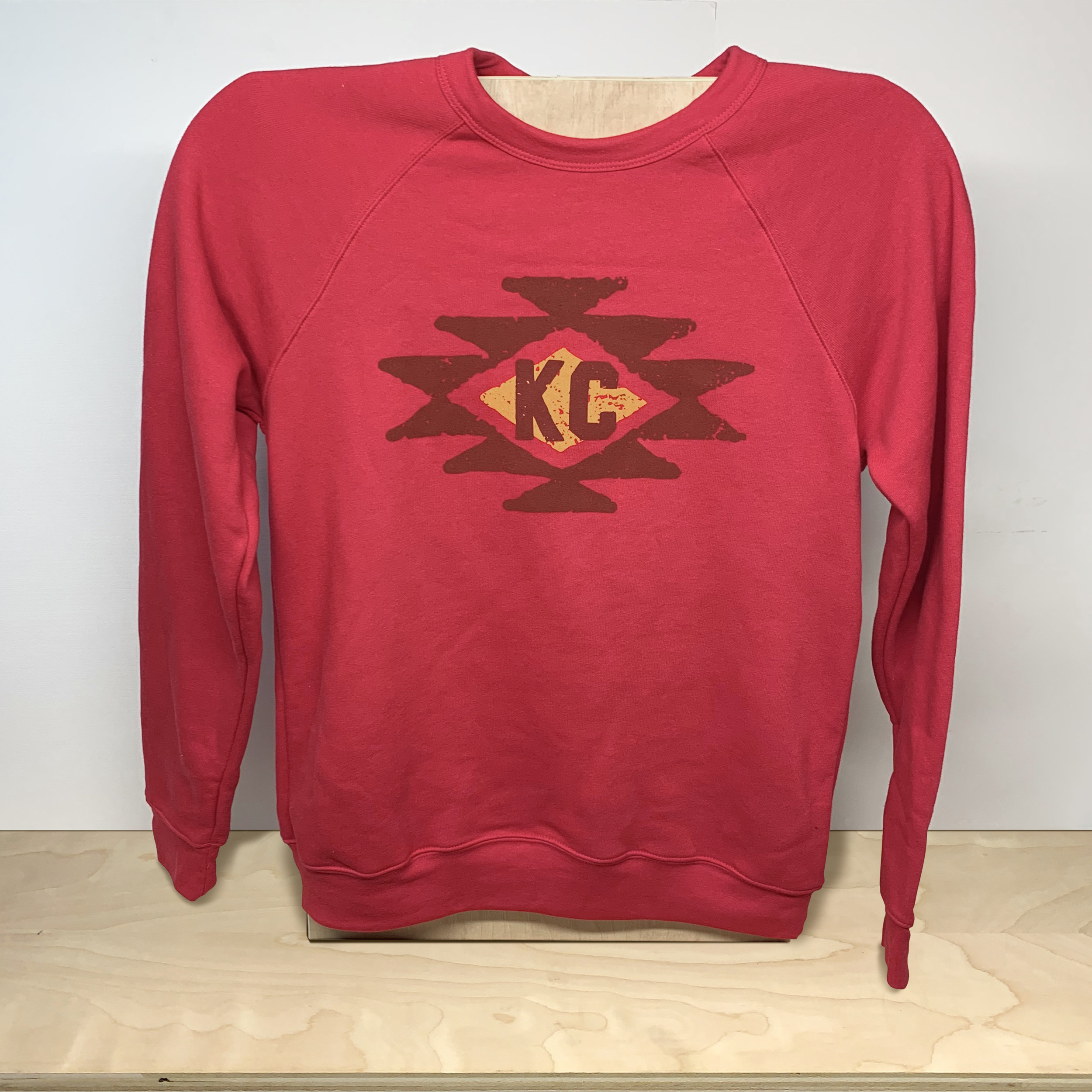 KC Tribe Sweatshirt (Red)