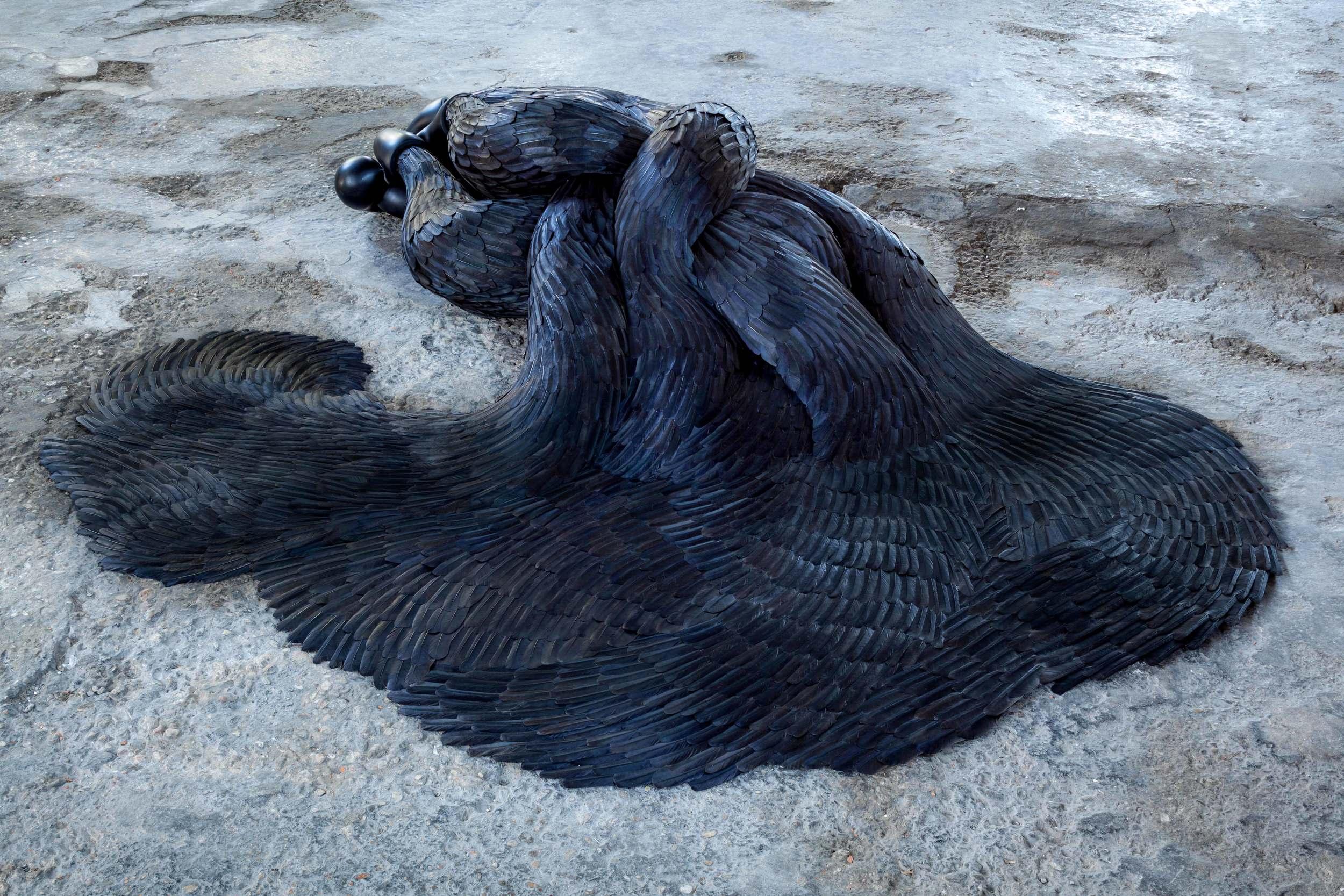 Siren, 2015, Kate MccGwire - Photo Francesco Allegretto