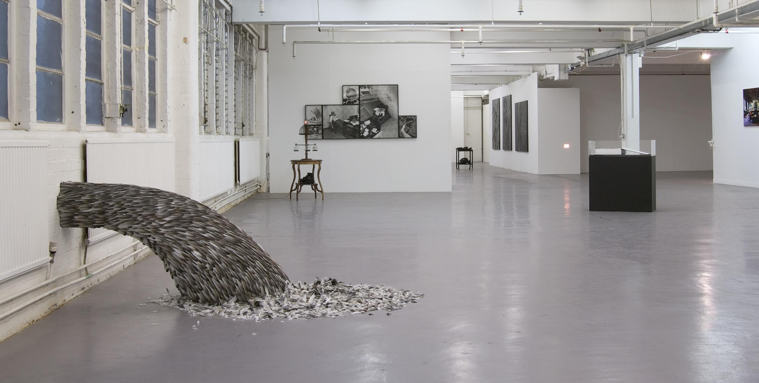 Heave, 2008, Kate MccGwire