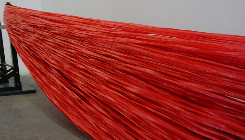 Red Tape, 2006, Kate MccGwire