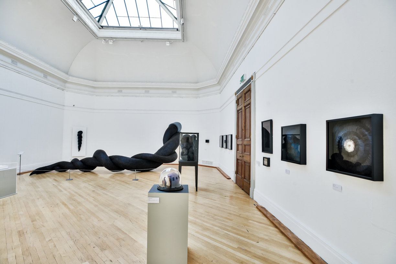 Exhibition View,Kate MccGwire, RWA,Bristol -Photo: Jon Craig
