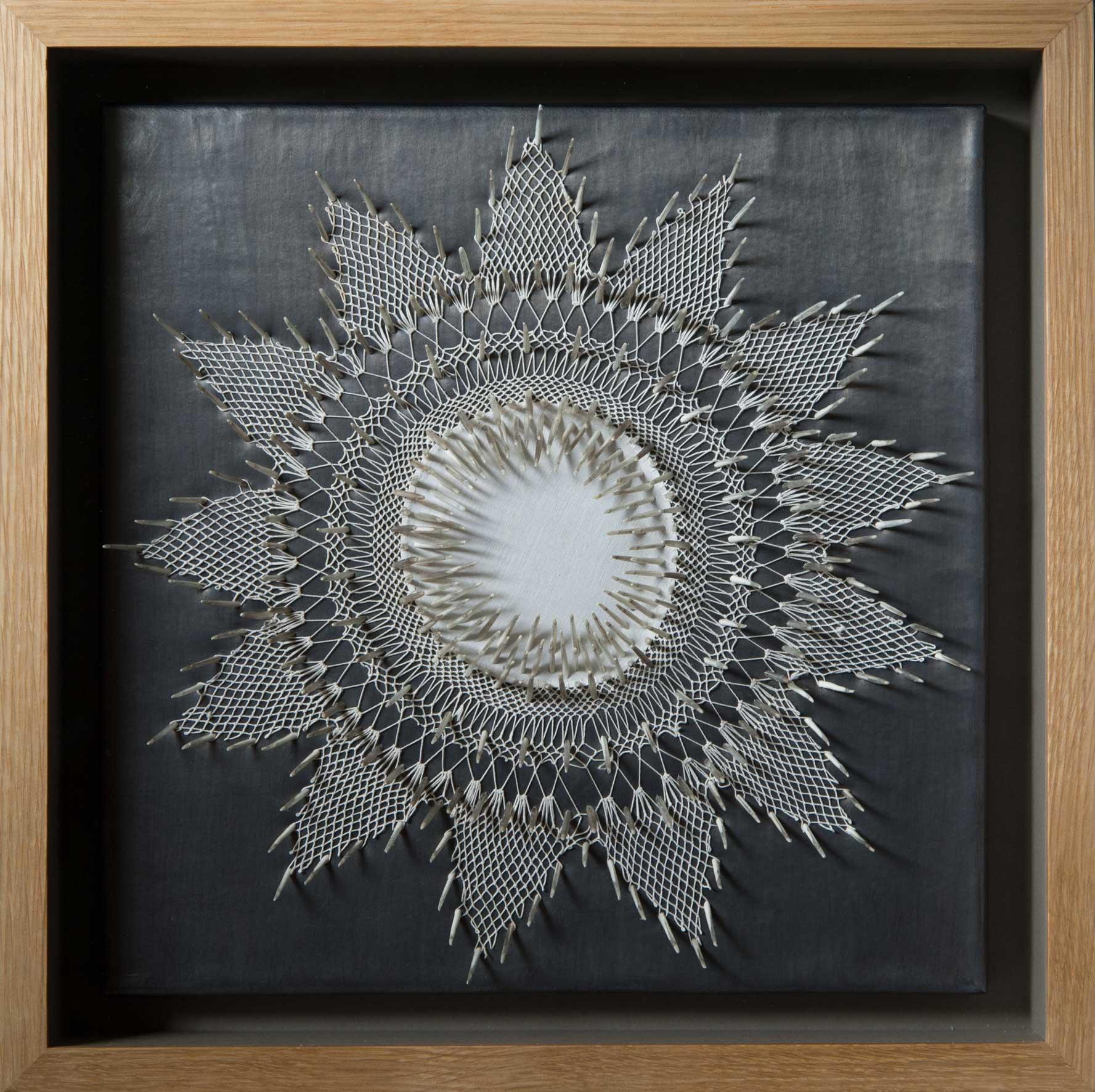 White Lies (Innocuous) , 44 x 44 x 9cm