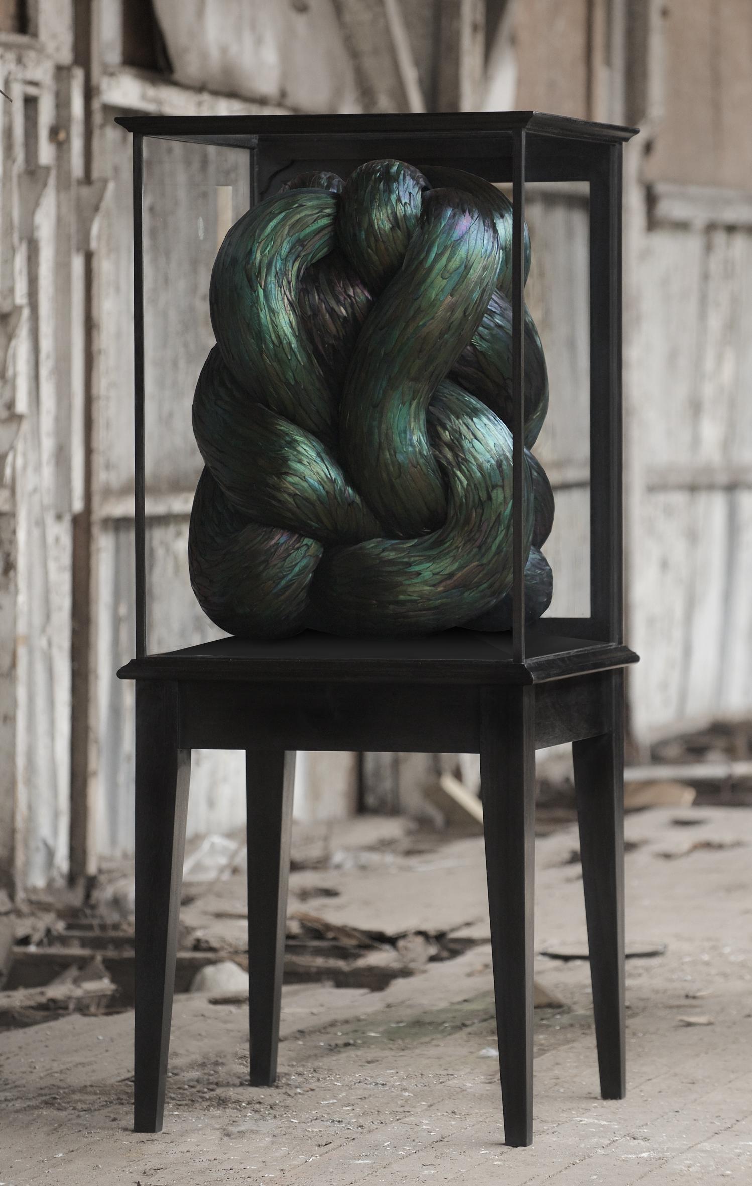 Convolous, 2015, Kate MccGwire - Photo JP Bland