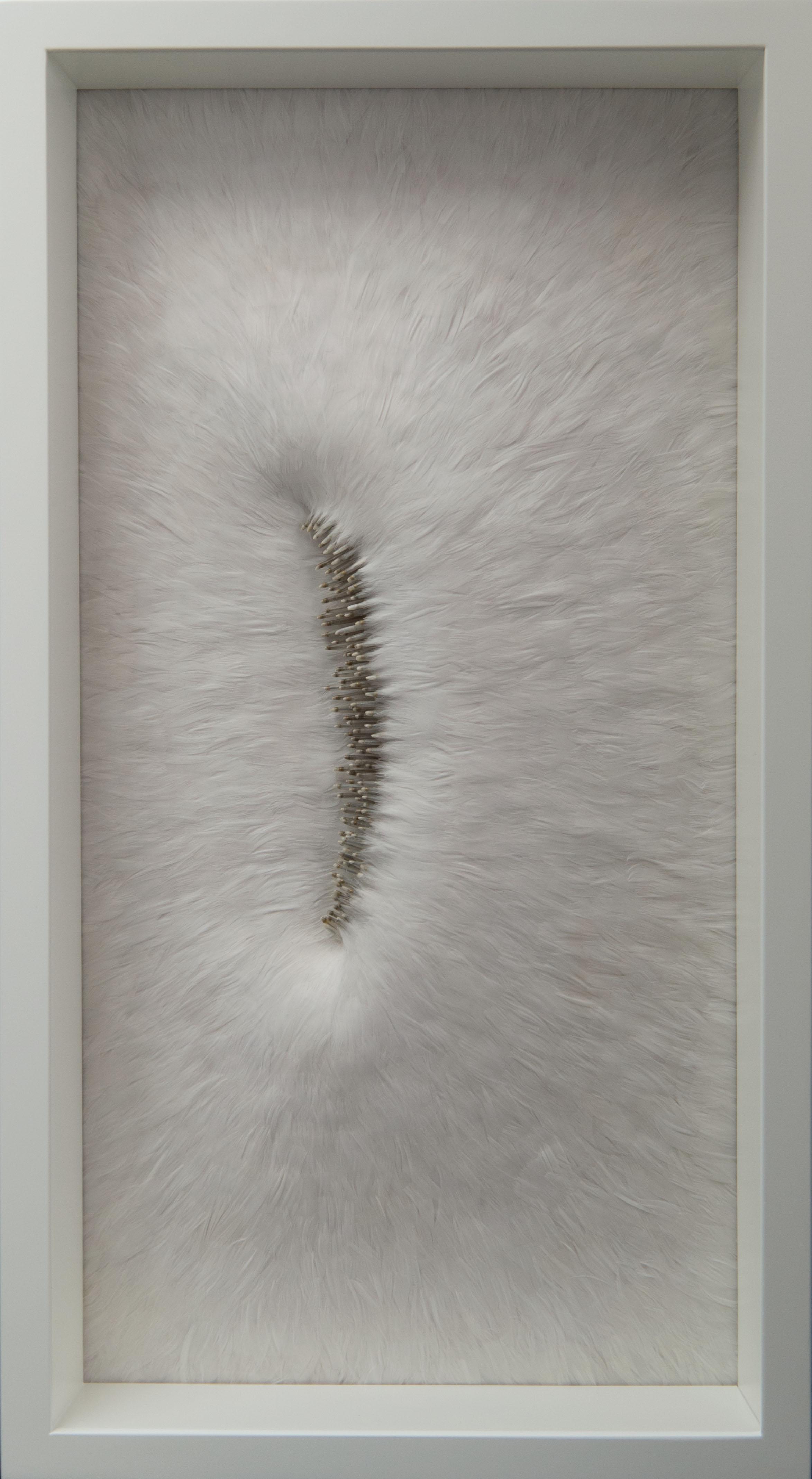 Sissure (Breach  ), 2016, Kate MccGwire - Photo: JP Bland