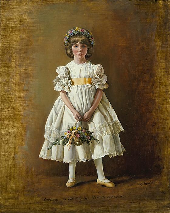 Catherine Cameron, Bridesmaid to Princess Diana