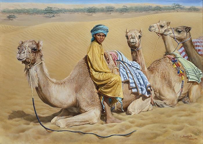 Camelboy - Oman